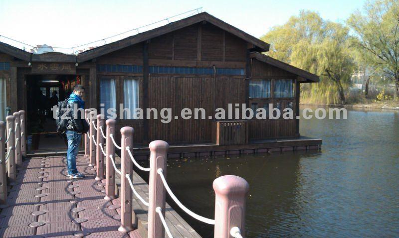 pontoons for floating house