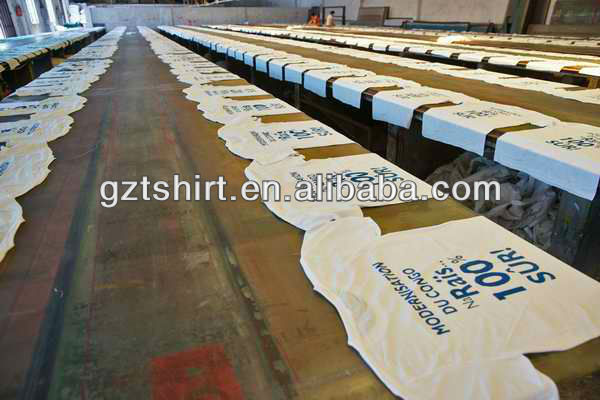 cheapest photo printing polyester or cotton election campaign with tshirts