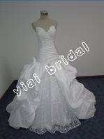 elegant drop shippiong taffeta wedding dress JJ2353