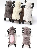 Free shipping Cute animal sheep stand holder for iphone 4 4s,10pcs/lot