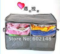 Мешок для хранения the Latest style 3pcs/lot Bamboo Charcoal foldable storage box for clothes