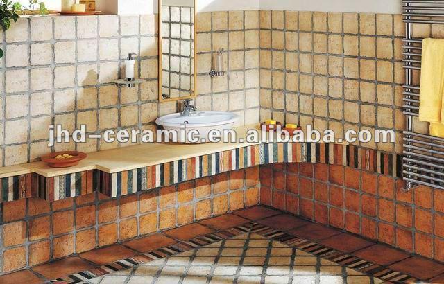 Cor de madeira azulejo da parede de cer mica telhas id do - Azulejos rusticos de cocina ...