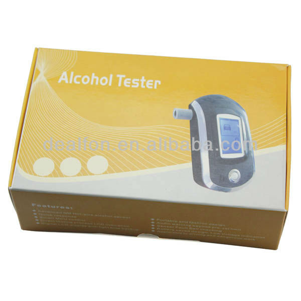 Professional High Accurate LCD Digital Display Breath Alcohol Tester-1