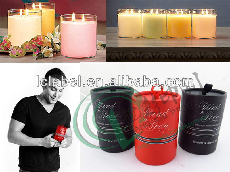 Luxury wholesale candle boxes candle packaging boxes with ribbon