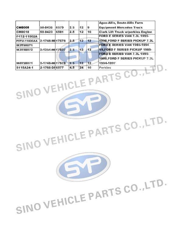 DELCO Starter Motor auto starter 1113271 6570 508422 Bobcat Clark John Deere Farm Industrial Equipment