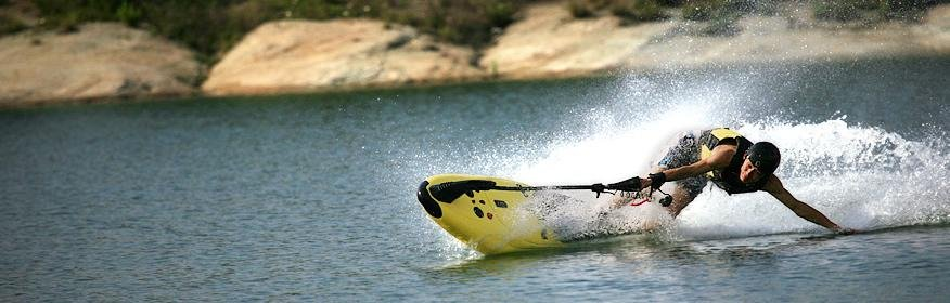 Supply Mini jet ski ,2 stroke engine on surfboard //Power Jetboard