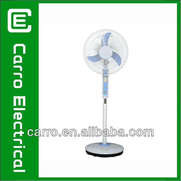 High quality 12V 16 inch recharge able fan
