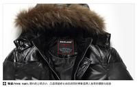 2013 new down jacket thick jacket men short down jacket down jacket winter coat