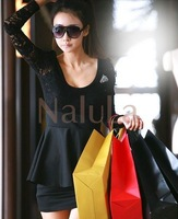 Женское платье Korean style dress NALULA & NV2902 fashion dress
