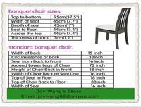 крышка качества синий стул / спандекс стул обложки свадебное 210gsm крышка стула