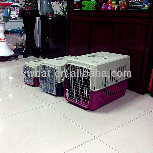 Factory direct sale portable plastic dog house / dog kennels / dog cages