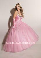 Платье на студенческий бал Princess Ball Gown Removable Halter Beading Prom dress