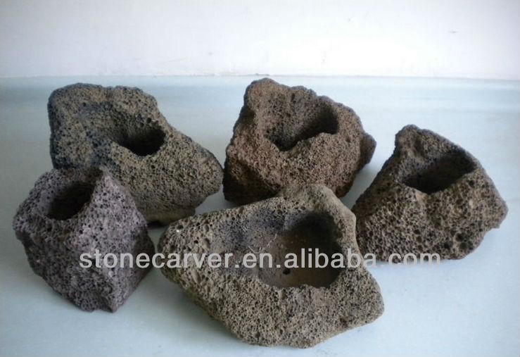 Lava Rock Planters Lava Stone Rock Planters