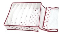 Бокс для хранения 3 pcs/set Foldable Storage Box With cover Non-woven fabrics for bra, underwear, necktie, socks