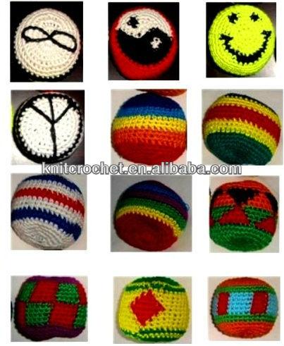 CROCHET HACKY SACK BALLS – Only New Crochet Patterns