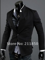 New Men's Casual Slim Sexy One Button Dress Suit Sports Jacket Blazer Coat Top Outerwear Korean Free Shipping