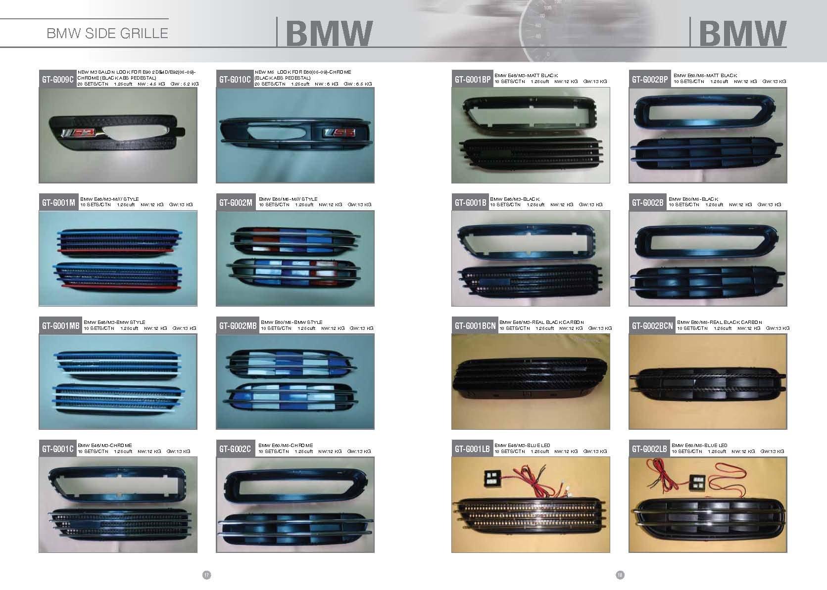 FOR BMW E90 2D & 4D/E92 05~09