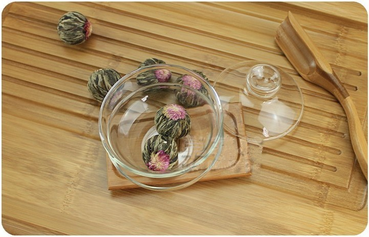 12 Kinds different Hand made blooming flower tea artistic Chinese health care the artistic blossom flower tea artistic tea ball cheap