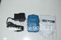 free shipping 350MHZ 1PC to 4 monitor VGA SVGA splitter with retail box