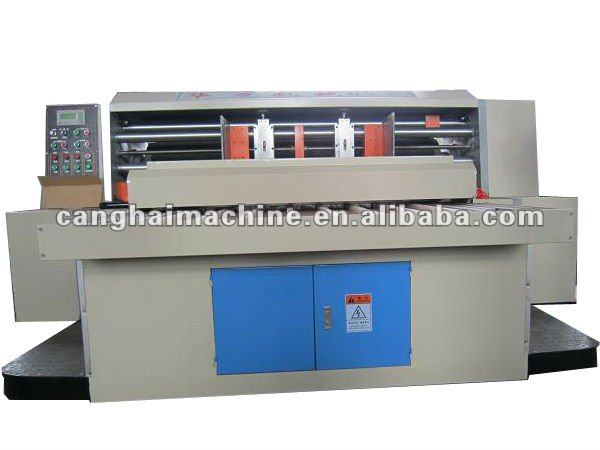 carton machinery auto rotary die cutting machine