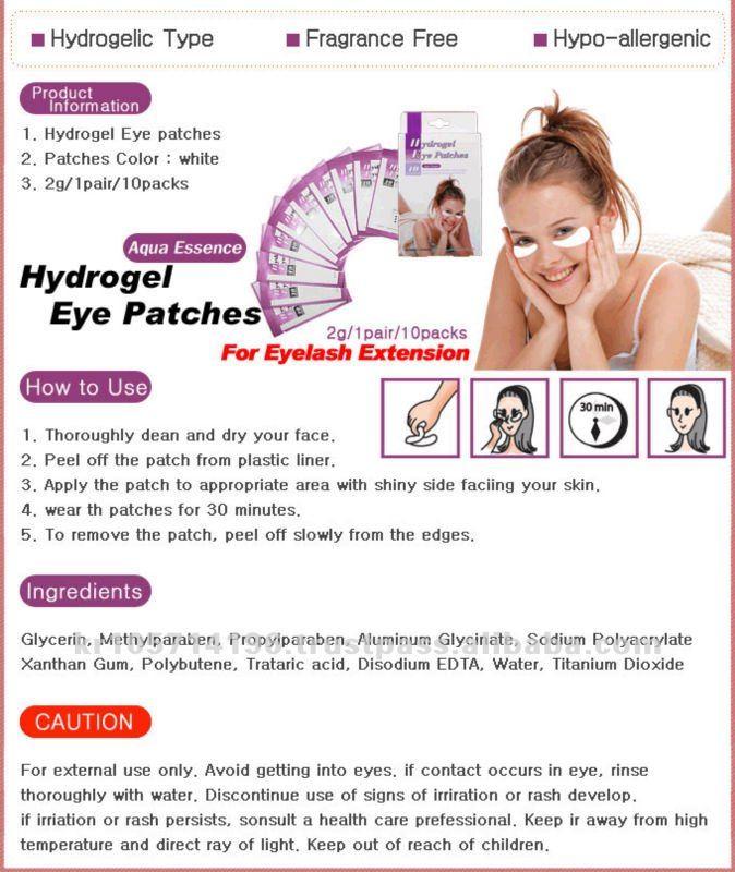 Collagen Eye Pads For Eyelash Extensions Pinkiss Eyelash Extension Eye