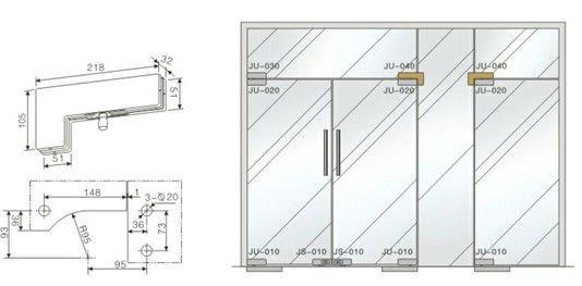 Glass Door Detail : Architetural glass door ss patch fitting ju buy