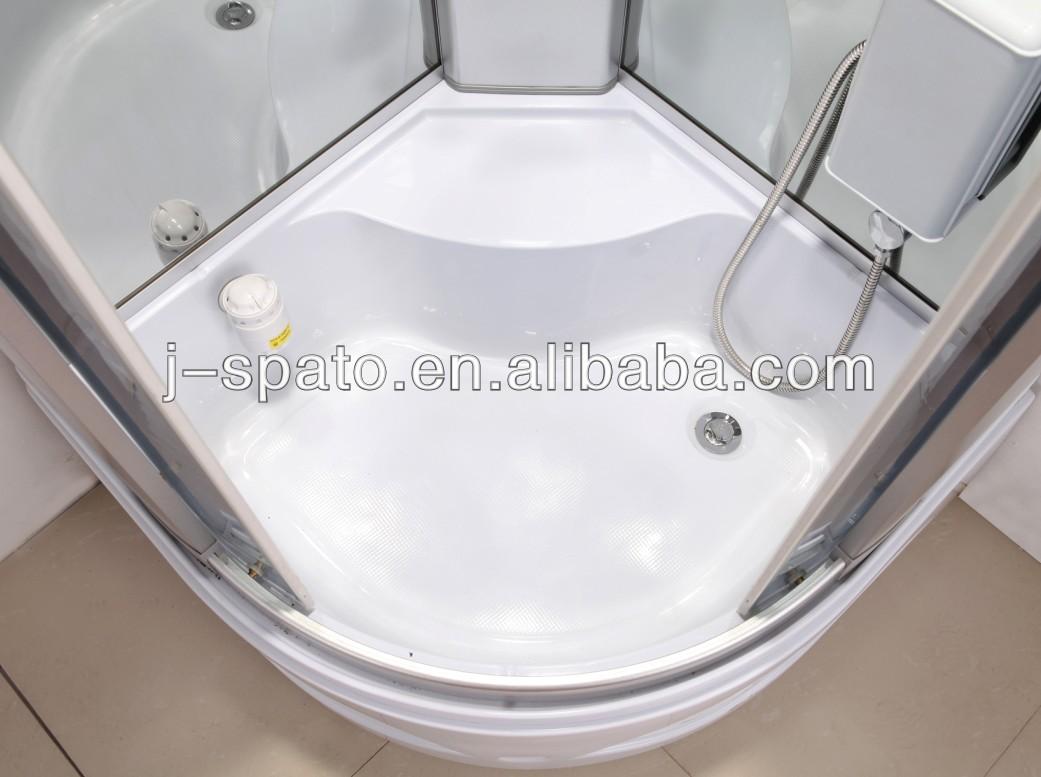 2014 Plastic Massage Luxuriant Shower Room With Glass Door