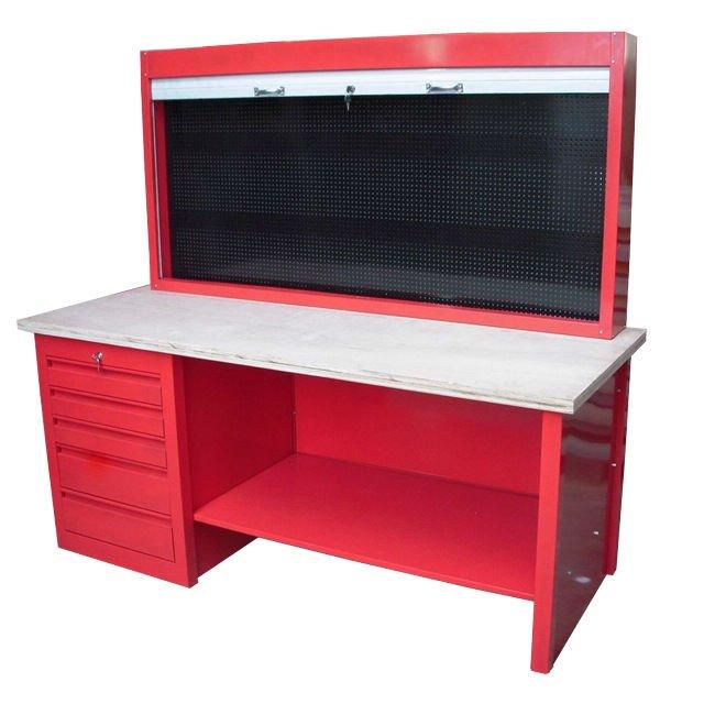 Uso de metal bancada garagem ou oficina mec nica bancadas for Leroy merlin oficinas