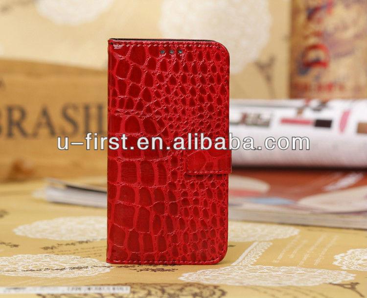 Leather Filp Case for samsung s4 mini case