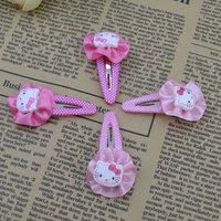 Детский аксессуар для волос Cute Baby kid children girl Hair bands circle kitty design hairpin beautiful color H45