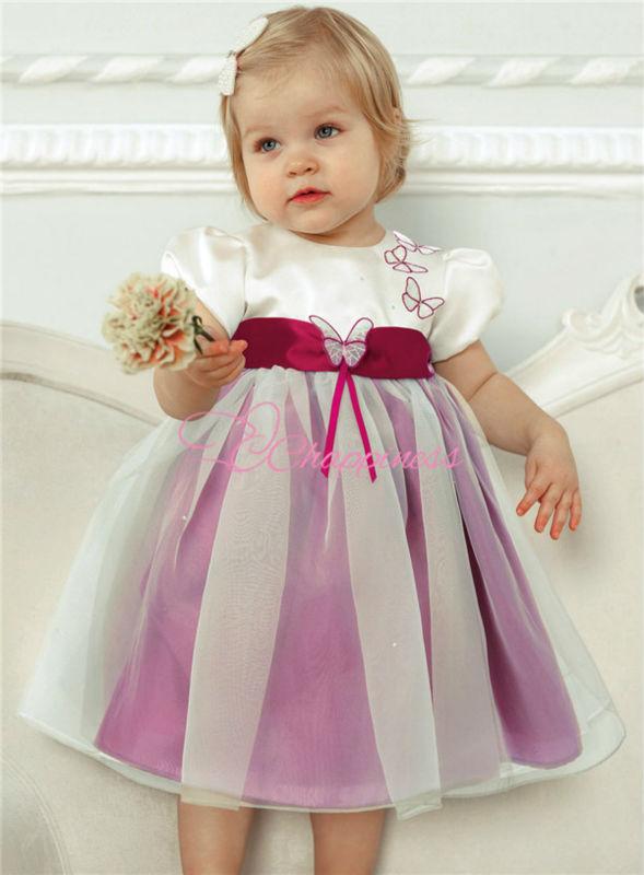 de manga corta moda balón vestido vestido de flores niña vestidos ...