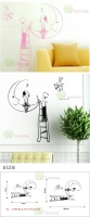 Free Shipping Wholesale And Retail Home Garden Wall Decor Sticker Decoration Vinyl Removeable Art Mural Home decor b-05