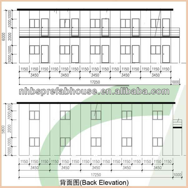 galvanized Industrial/Commercial and Residential Prefabricated Steel Structure Building