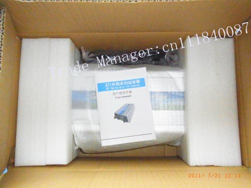 Free shipping via DHL/EMS 600W Grid Tie Inverter for wind turbine