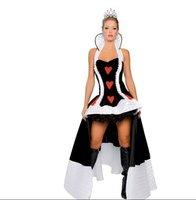 Женский эротический костюм new design sexy The queen dress romantic costumes sexy lingerie for women sex toy sexy halloween cosplay costumes