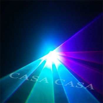 free shipping  600mW RGB Animation  Color  dj disco  laser light stage lighting