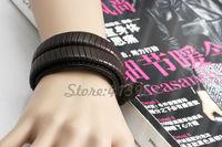 Кожаный браслет Silver Charm & & PI0270