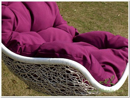 Modern hanging chair outdoor hanging chair with cushion