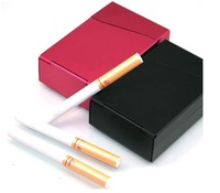 cigarette rolling machine10 pack cigarette case with a lighter