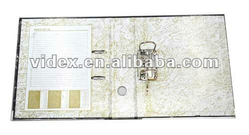 box lever arch files,A4 cardboard lever arch file