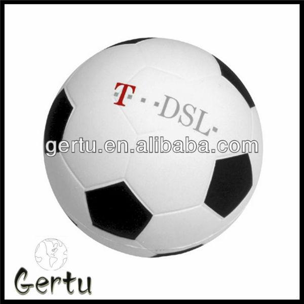 Promotional Pu foam anti stress soccer ball