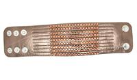 Brand New Fashion Leather Acrylic Rhinestones Wrap Bracelet Free Ship B173
