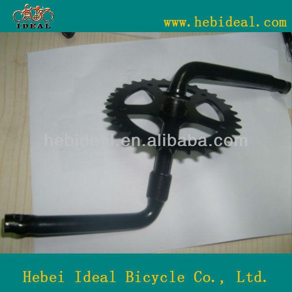 Kid's bike CP one piece crank/opc/crank pieces stell