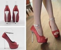 Туфли на высоком каблуке 2012 New Fashion women's Mary Janes Sexy open toe Stiletto high heels shoes for party nice wedding sandals