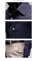2012 New Stripe slim shirt long sleeve casual fashion &leisure shirt