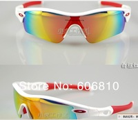 Женские солнцезащитные очки 2 pcs RADAR PATH mix color Men's Sunglasses, riding sunglass, Sport Sunglass, 5 lenses