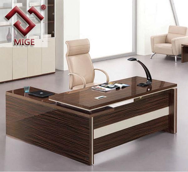 Modern Wood L Shape Director Office Table Design Buy