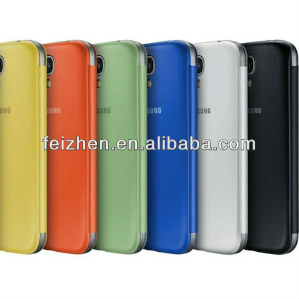 Hot selling for samsung s4 case mobile genuine leather case for Galaxy S4
