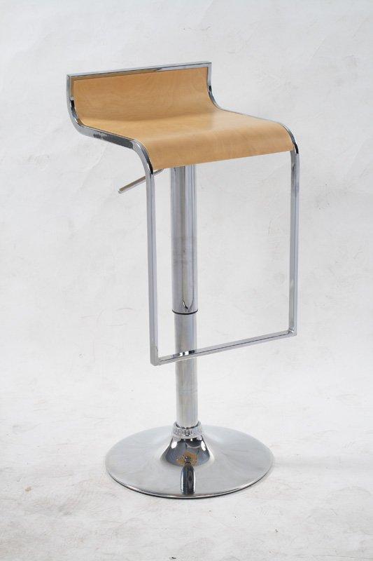 modern swivel wood barstool height adjustable JR-6008