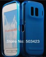 Чехол для для мобильных телефонов Matte Soft TPU Gel Case For Nokia 808 PureView